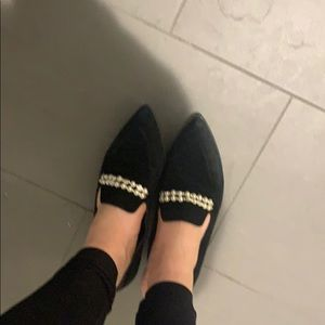 Marc Fisher Black Pearl Flats